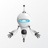 Ejemplo fresco del robot Foto de archivo