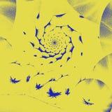 Ejemplo generado por ordenador del fractal de un esférico Fotografía de archivo libre de regalías