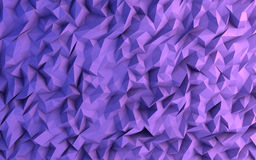 Ejemplo geométrico del fondo del triángulo púrpura abstracto Imagen de archivo libre de regalías