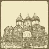 Ejemplo gráfico con la arquitectura decorativa 24 Foto de archivo