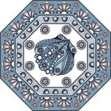 Ejemplo gráfico con las baldosas cerámicas 34 Imagen de archivo libre de regalías