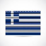 Icono griego de la compañía de la producción del apartadero Fotos de archivo libres de regalías