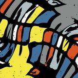 Ejemplo hermoso del vector del fondo del extracto de la textura del grunge de la pintada stock de ilustración