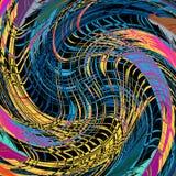 Ejemplo hermoso del vector del fondo del extracto de la textura del grunge de la pintada ilustración del vector