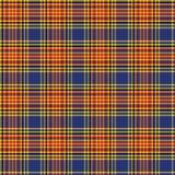 Ejemplo inconsútil del fondo del modelo del tartán escocés Imágenes de archivo libres de regalías