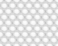 Ejemplo inconsútil del vector del modelo del plástico de burbujas Imágenes de archivo libres de regalías