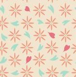 Ejemplo inconsútil floral ilustración del vector