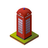 Ejemplo isométrico del color Foto de archivo libre de regalías