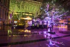 Ejemplo ligero en el complejo del Midtown de Roppongi Foto de archivo libre de regalías
