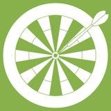 Ejemplo lindo del vector de la blanco y de la flecha para los dardos Spor ilustración del vector