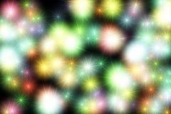 Ejemplo luminoso de neón de las luces Modelo del diseño para el fondo fotografía de archivo libre de regalías