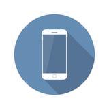 Ejemplo móvil plano moderno del vector del icono Imagen de archivo libre de regalías