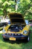 Ejemplo magnífico del coche antiguo en la demostración, museo del automóvil de Saratoga, Nueva York, 2016 fotografía de archivo libre de regalías