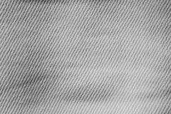 Ejemplo monocromático blanco y negro de la textura de la materia textil del vintage imagen de archivo