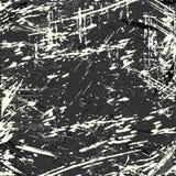 Ejemplo monocromático hermoso del vector de la textura del fondo del grunge de la pintada Imagen de archivo