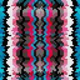 Ejemplo oscuro del vector del fondo del pixel Imagen de archivo