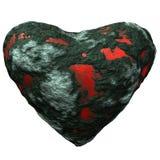 Ejemplo pétreo del corazón Fotografía de archivo libre de regalías