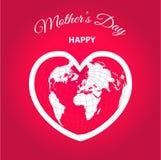 Ejemplo para mujer internacional del día de fiesta del día Plantillas del vector para la tarjeta, el cartel, el aviador y otros stock de ilustración