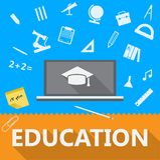 Ejemplo plano de la educación Fotos de archivo