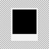 ejemplo polaroid 1 del vector del marco de la foto stock de ilustración
