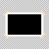 ejemplo polaroid 4 del vector del marco de la foto ilustración del vector