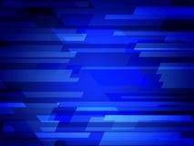 Ejemplo poligonal del vector azul marino, que consisten en rectángulos Modelo rectangular para su diseño de negocio Parte posteri Foto de archivo libre de regalías