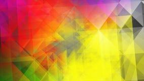 Ejemplo poligonal multicolor ligero, que consisten en triángulos Modelo triangular para su diseño de negocio Fotos de archivo libres de regalías