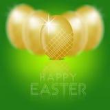 Ejemplo profesional de los huevos de Pascua Imágenes de archivo libres de regalías