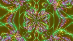 Ejemplo psicodélico ilusorio del fondo ilustración del vector