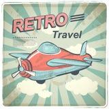 Ejemplo retro del viaje del vector Foto de archivo libre de regalías