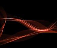 Ejemplo rojo elegante Imágenes de archivo libres de regalías
