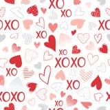 Ejemplo romántico del corazón Imágenes de archivo libres de regalías