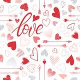 Ejemplo romántico del corazón Foto de archivo libre de regalías