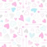 Ejemplo romántico del corazón Fotos de archivo libres de regalías
