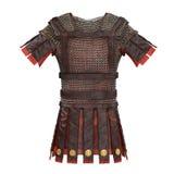 Ejemplo romano de la armadura 3d Foto de archivo