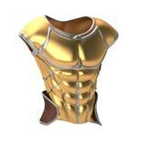 Ejemplo romano de la armadura 3d Fotografía de archivo