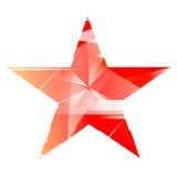 Ejemplo ruso de la estrella de URSS stock de ilustración