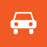 Ejemplo simple del icono del coche Foto de archivo