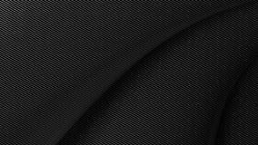 ejemplo suave 3d del fondo 3d de la fibra de carbono Ilustración del Vector