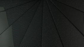 ejemplo traslapado del backgorund 3d de los paneles del carbono Ilustración del Vector