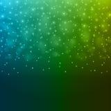 Ejemplo verde azul claro abstracto del vector del fondo de Bokeh stock de ilustración