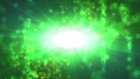 Ejemplo verde manchado abstracto del universo Fotos de archivo