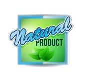 Ejemplo verde natural de la marca del sello Foto de archivo libre de regalías