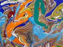 Ejemplos abstractos coloreados Imágenes de archivo libres de regalías