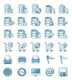 Ejemplos del icono Foto de archivo libre de regalías