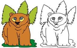 Ejemplos del oso libre illustration