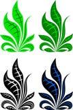 Ejemplos del vector del arsenal de la hierba Foto de archivo libre de regalías