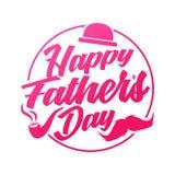 Ejemplos dibujados mano feliz del día del padre s Engendre el diseño especial del día de s por los ejemplos del vector libre illustration