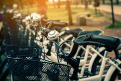 Ejercicio de giro de la bicicleta Foto de archivo