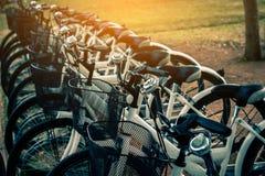 Ejercicio de giro de la bicicleta Imágenes de archivo libres de regalías